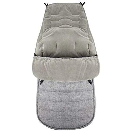Saco de dormir exterior para bebé, saco de dormir cálido para cochecitos de invierno, impermeable, conector universal, saco de invierno para asiento de coche, cortavientos e impermeable