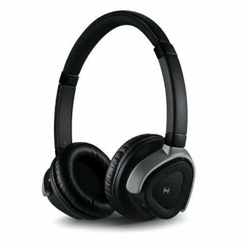 Creative Hitz WP380 Bluetooth 3.0 Headset (NFC, Creative ShareMe, Multipoint-Funktion, inkl. Transporttasche) schwarz