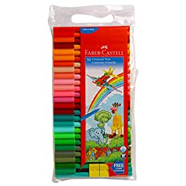 Faber Castell Connector Pens, Multicolor – Pack of 50