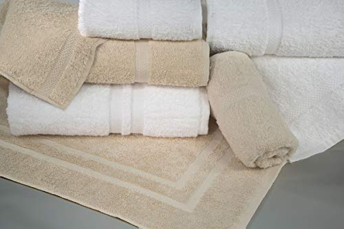 Manchester Mills - Grand Royal Bath Towel, Cotton Double Dobby Border - 27' x 54' - Case of - 48