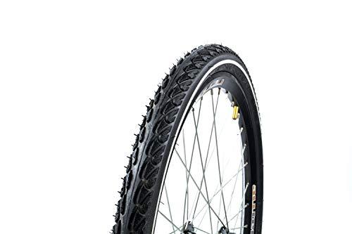 2 Stück 24 Zoll INNOVA 47-507 Fahrrad City Trekking Reifen 24x1.75 tire Weiss Ring