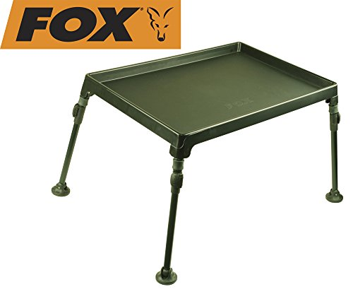 Fox Session Table Bivvy Table Zubehör Zelt Tisch, Karpfenangeln, Angeln auf Karpfen, Nachtangeln, Tisch fürs Karpfenzelt, Angelzelt