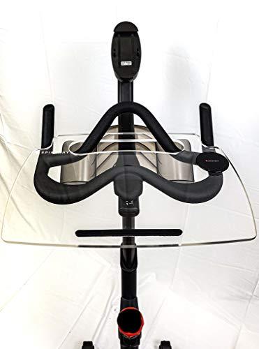 Spintray per bici Echelon (EX5 o EX5S) | Lavoro e guida con telefono, laptop, libro o tablet | Echelon cyclette | Bici da bici | Made in the USA
