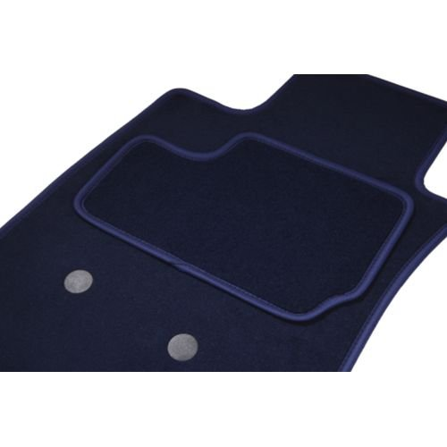 Fußmatten eTile passgenau für Montblanc Automaxi Kit ohne trappes ARRIERES (von 09/08-ce Tag)–2Road–Marine–Teppich Tuft, L Aspekt Velours, 550g/m2+ SS Schicht 1950G/M2+ Band Textil High-End