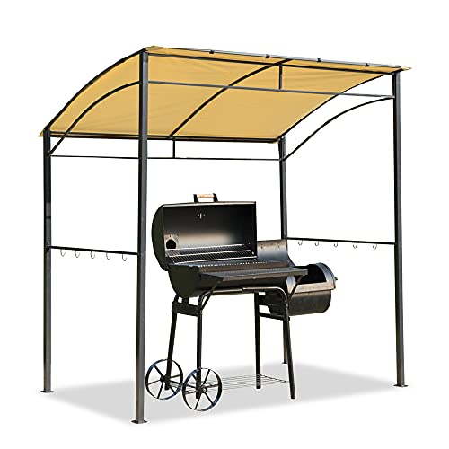 Outsunny Fire Retardent Steel BBQ Patio Gazebo