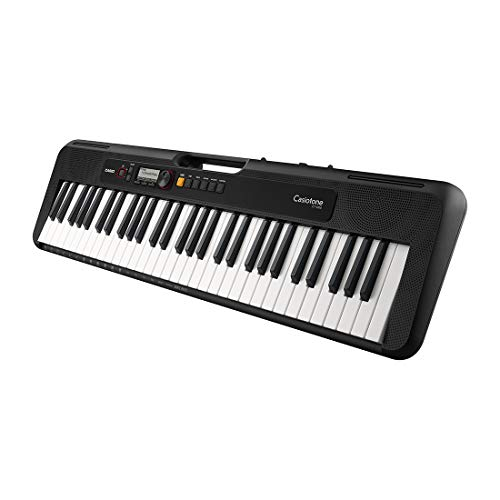 Casio CT-S200 Casiotone 61-Key Portable Keyboard (Black)