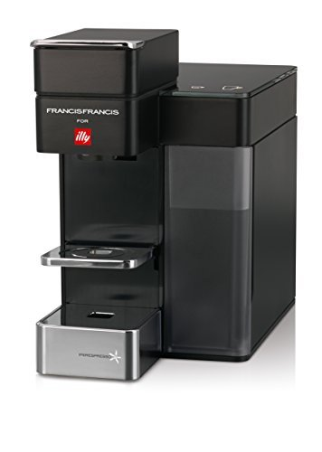 Francis Francis for Illy 60068 Y5 Duo Espresso & Coffee Machine, Black by Francis Francis for illy