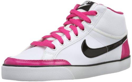 Nike Capri 3 Mid Ltr 580411-102 Jungen hoch Weiß (White/Black-Vivid Pink) 37.5