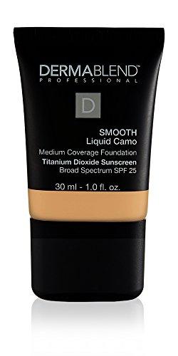Dermablend Smooth Liquid Foundation with SPF 25, 30N Camel, 1 Fl. Oz.