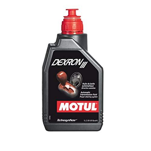 Aceite MOTUL Dexron III para cajas de cambio, dirección asistida, circuitos hidráulicos. 1 litro.