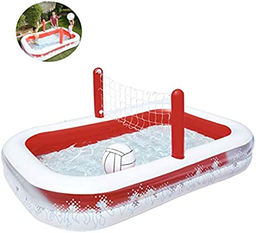 Aufblasbares Becken, Kinderbecken, überGrößes Volleyball-Unterhaltungsbecken 253 cm