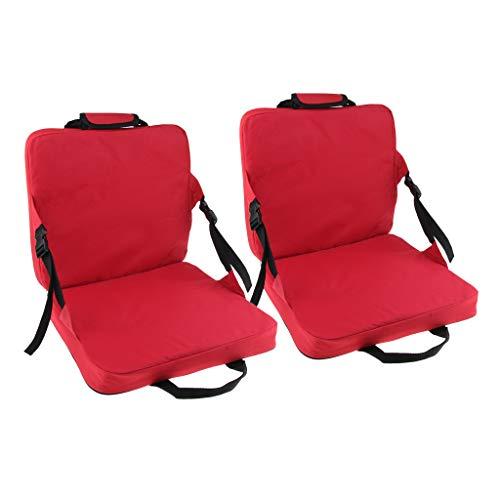 SM SunniMix 2 x Wasserdicht Sitzkissen faltbar Sitzmatte für Outdoor