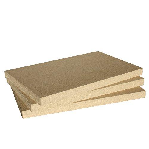 HARK 3x Vermiculiteplatten Thermax SF 600 500x300x30 mm