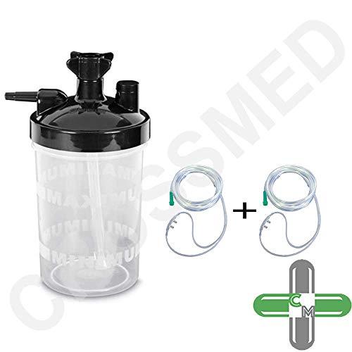 CROSSMED Luftbefeuchter-Flasche für Sauerstoff-Konzentrator
