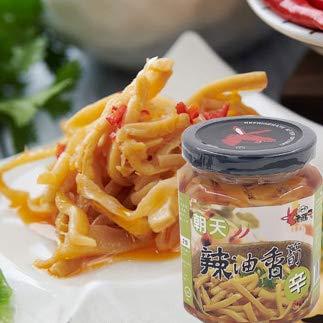 老騾子辣油香筍(ロウバ ラー油漬けたけのこ) 辛口 台湾産 ラー油 260g