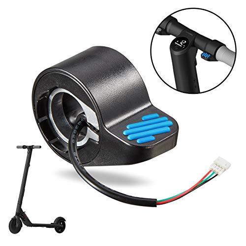 Tinke Scooter eléctrico Acelerador de Pulgar Acelerador de Dedo Accesorios Reemplazo Compatible para Ninebot ES1 / ES2 / ES3 / ES4 Scooter eléctrico