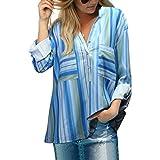 Las Camisas De Las Esencial Manga Mujeres De Larga A Rayas Breasted Bolsillos Laterales Classic Vintage Camisa Blusa Las Mujeres del Otoño Joven Exquisito De La Manera Camisa Tops