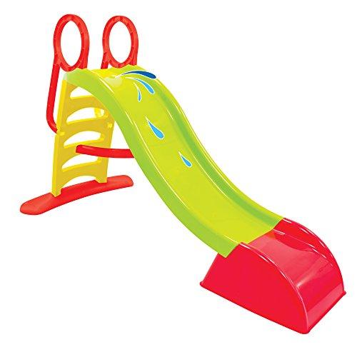Mochtoys Rutsche outdoor für Kinder - Kinderrutsche für outdoor spielgeräte in den Garten - Wasserrutsche Garten Spielgeräte - Outdoor Spielzeug ab 2 jahre - Gartenrutsche für Baby Draußen