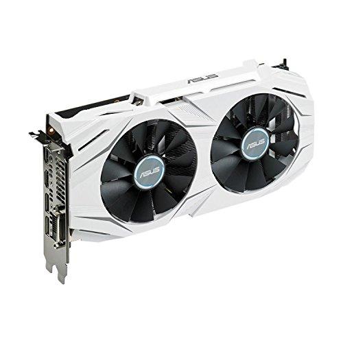 ASUS DUAL-GTX1060-3G GeForce Grafikkarte, 3GB weiß