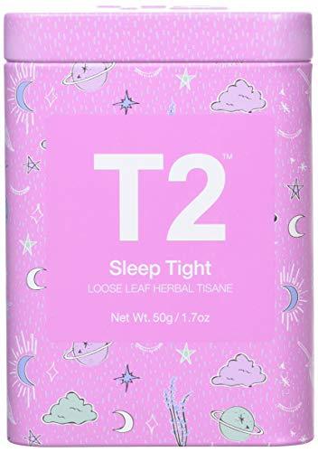 T2 Tea Sleep Tight Sleep Tea, Loose Leaf Herbal Tea in Limited Edition Tin, 50 g