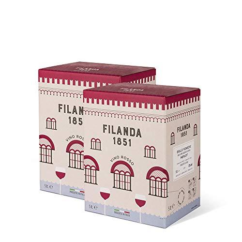 Confezione 2 bag in box Rosato Igt 5 litri – Ornella Molon