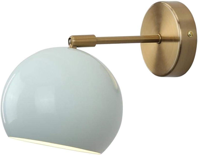LED Wandleuchte moderne runde Wandleuchte Wandleuchte Wandleuchte Metall verstellbare Wandbeleuchtung für Wohnzimmer Schlafzimmer Licht Küche Esszimmer Flur-6000K