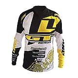 アウトドアマウンテンバイクライディングジャージーサイクリングジャージー長袖オフロードシャツ長袖オートバイ服ダウンヒルTシャツメンズオフロードジャケット