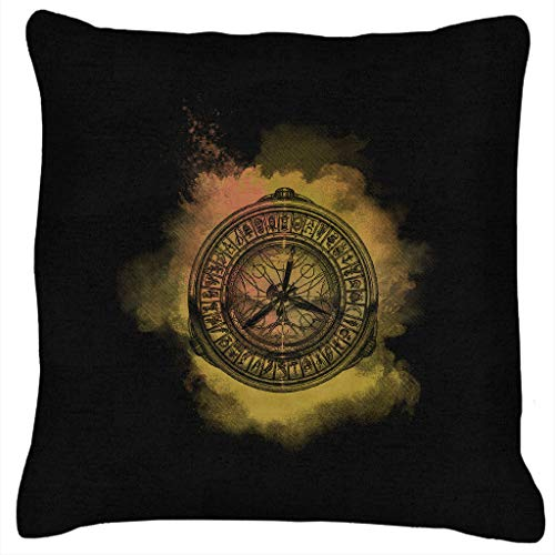 His Dark Materials The Goldent Compass Clouds Cushion