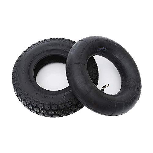Neumáticos para patinetes eléctricos, neumáticos de Caucho 4.10/3.50-6, Gruesos y Resistentes al...