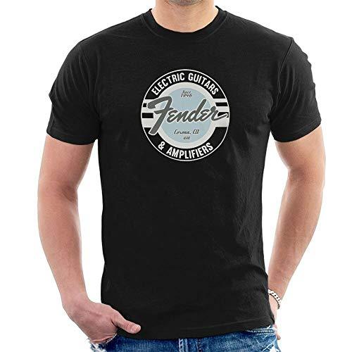 Aolent Fender T-Shirt elektrische gitaren & versterkers sinds 1946 S48