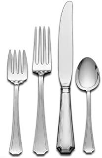 Gorham Fairfax 4-Piece Sterling Silver Flatware Place Set, Service for 1 by Lifetime Brands