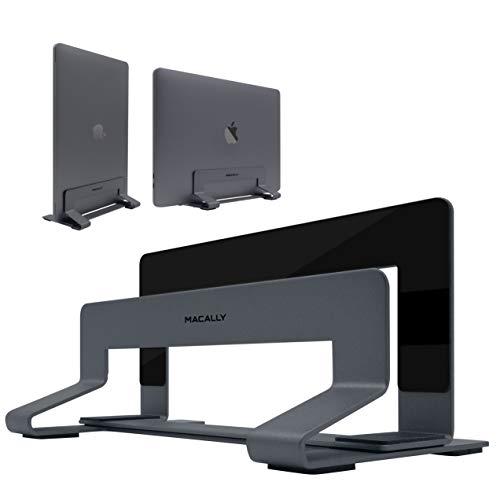Macally - Soporte vertical de portátil para ahorrar espacio en la mesa,...