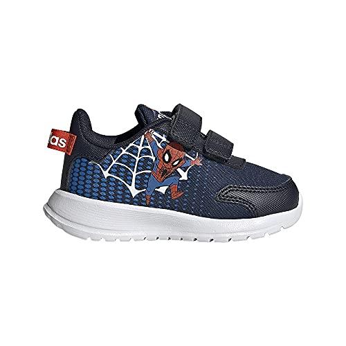 adidas TENSAUR Run I, Zapatillas de Running, Tinley/FTWBLA/Azul, 24 EU