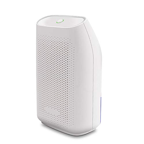 JFF Home Dehumidifier, Ultra Quiet Small Portable Dehumidifiers with Auto Shut Off for Basement, Bathroom, RV, Office