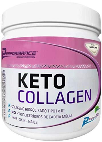 Keto Collagen (450G) - Sabor Baunilha, Performance Nutrition