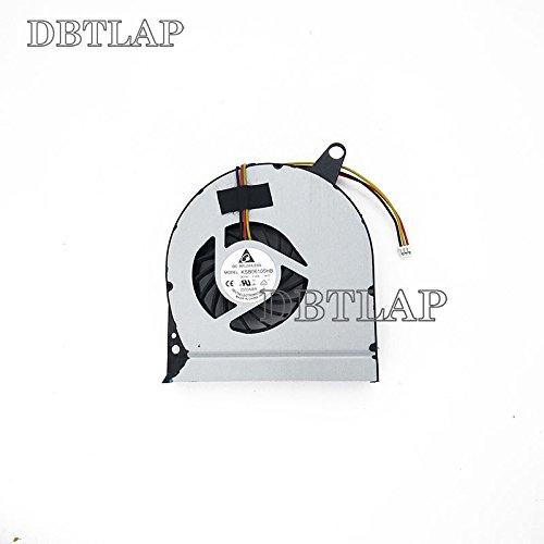 DBTLAP Ventilador de la CPU del Ordenador portátil para Acer Aspire V3 V3-771 V3-771G V3-731 V3-731G CPU Ventilador Delta KSB06105HA CF04 DC5V 0.4A