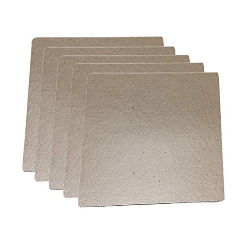 JAP768 5 stücke Glimmerplatten Blätter Dicke Mikrowellenherd Toaster Glimmerplatten Blätter for Mida Universal Home...