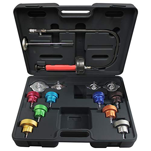 MASTERCOOL 43300 14 Piece Universal Cooling System Pressure Test Kit