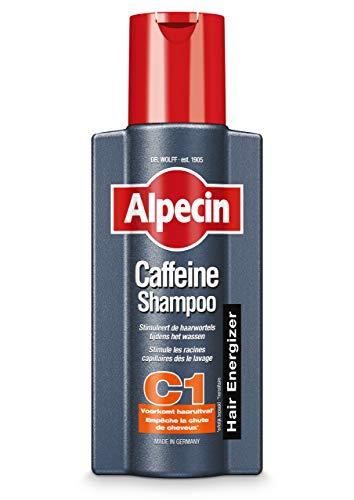Alpecin Caffeine Shampoo C1, 1 x 250 ml - Voorkomt haaruitval - Stimuleert de haarwortels tijdens het wassen