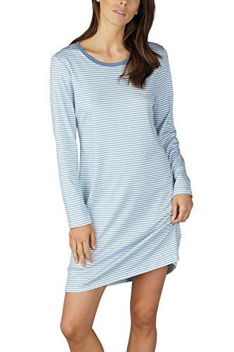 Mey Vrouwen 11952 Vrouwen Paula Gestreept Katoen Nachtkleding