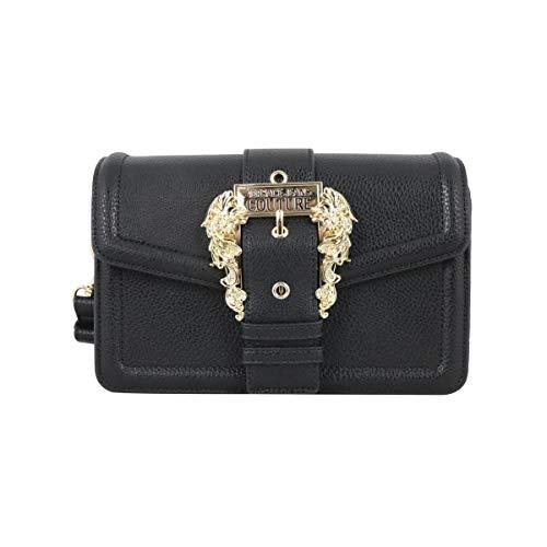 Versace Borsa a spalla Jeans Couture Donna colore Nero E1VWABF171578899