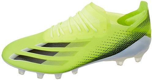 adidas X GHOSTED.1 AG, Zapatillas de fútbol Hombre, Amasol/NEGBÁS/AZUREA, 41 1/3 EU
