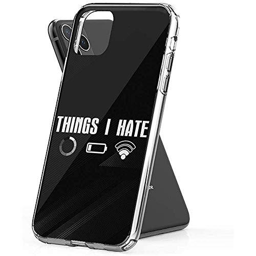 Gustave Tomlinson Case Phone Things I Hate WiFi Programador de computadoras Nerd Coder (Diagonal de 5.8 Pulgadas Compatible con iPhone 11 Pro)