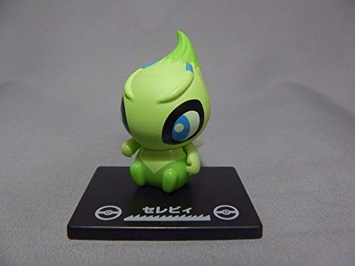 BANDAI Gashapon Pokemon Collechara 3 Mini Figure & Base~Celebi