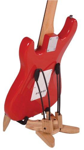 Kinsman KWE51 - Supporto ad A per chitarra elettrica, in legno