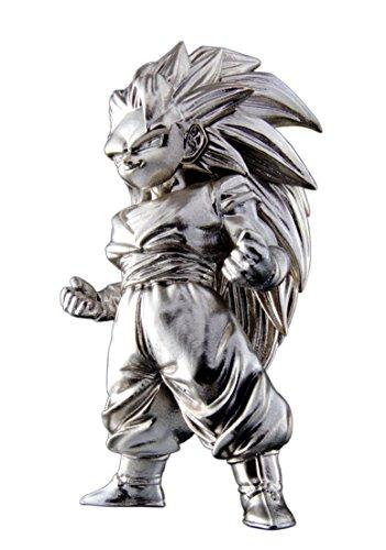 Bandai- Super Saiyan 3 Son Goku, Mini Figura de 7 cm, Dragon Ball Z Series 2 Absolute Chogokin (BDIDB112204) , color/modelo surtido