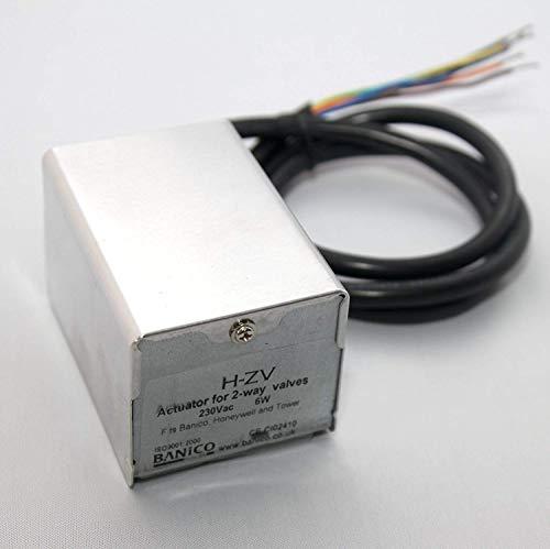 FixtheDrip Motorisierter Zonenventilteller, ersetzt Honeywell V4043H1056 / V4043H1106 / V4043C1156 / V4043H1007 / V4043H1080, 2 Ports, 22 oder 28mm