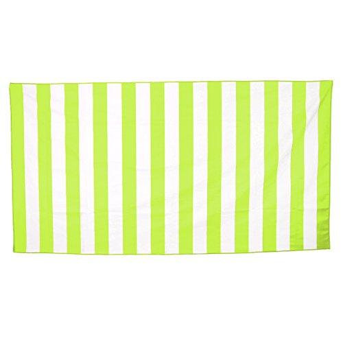 FLAMEER Asciugamano di Raffreddamento, Asciugamano Sportivo in Poliestere per Allenamento, Golf, Palestra, Yoga - Verde Fluo