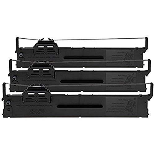 Epson C13S015339 - Pack de 3 cintas de nilón para PLQ-20/22, negro, negro, Ya disponible en Amazon Dash Replenishment