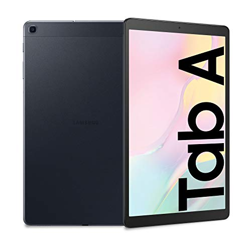 Samsung Galaxy Tab A 10.1, Tablet, Display 10.1' WUXGA, 32 GB Espandibili, RAM 2 GB, Batteria 6150 mAh, LTE, Android 9 Pie, Black [Versione Italiana]
